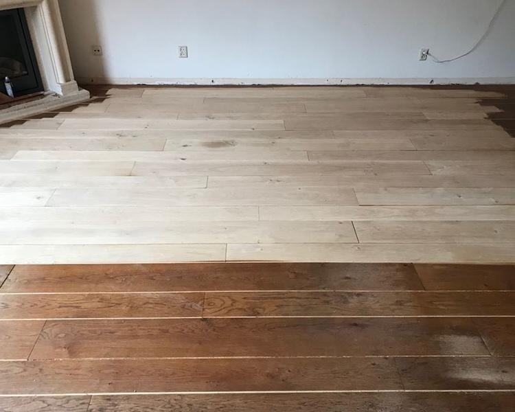 Visgraat vloer schuren parket schuren amstelveen